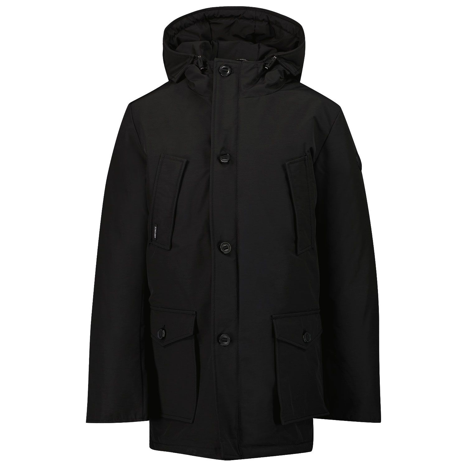 Picture of Airforce HRB0333 kids jacket black