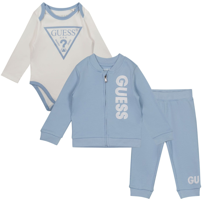 Afbeelding van Guess H1YW05 baby joggingpak licht blauw