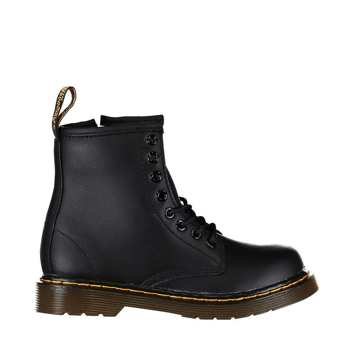Picture of Dr. Martens 15382001 kids boots black