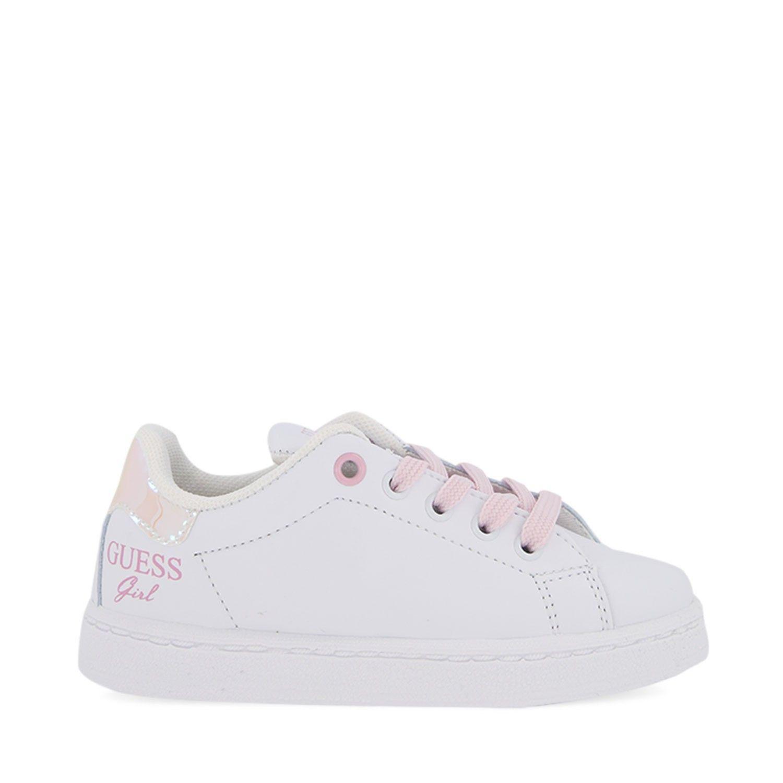 Afbeelding van Guess F17LUC/ELE12 kindersneakers wit