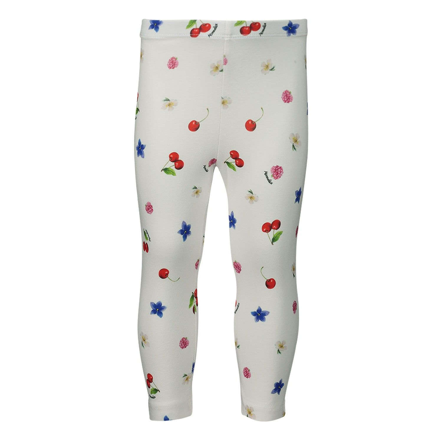 Picture of MonnaLisa 315414 baby legging white
