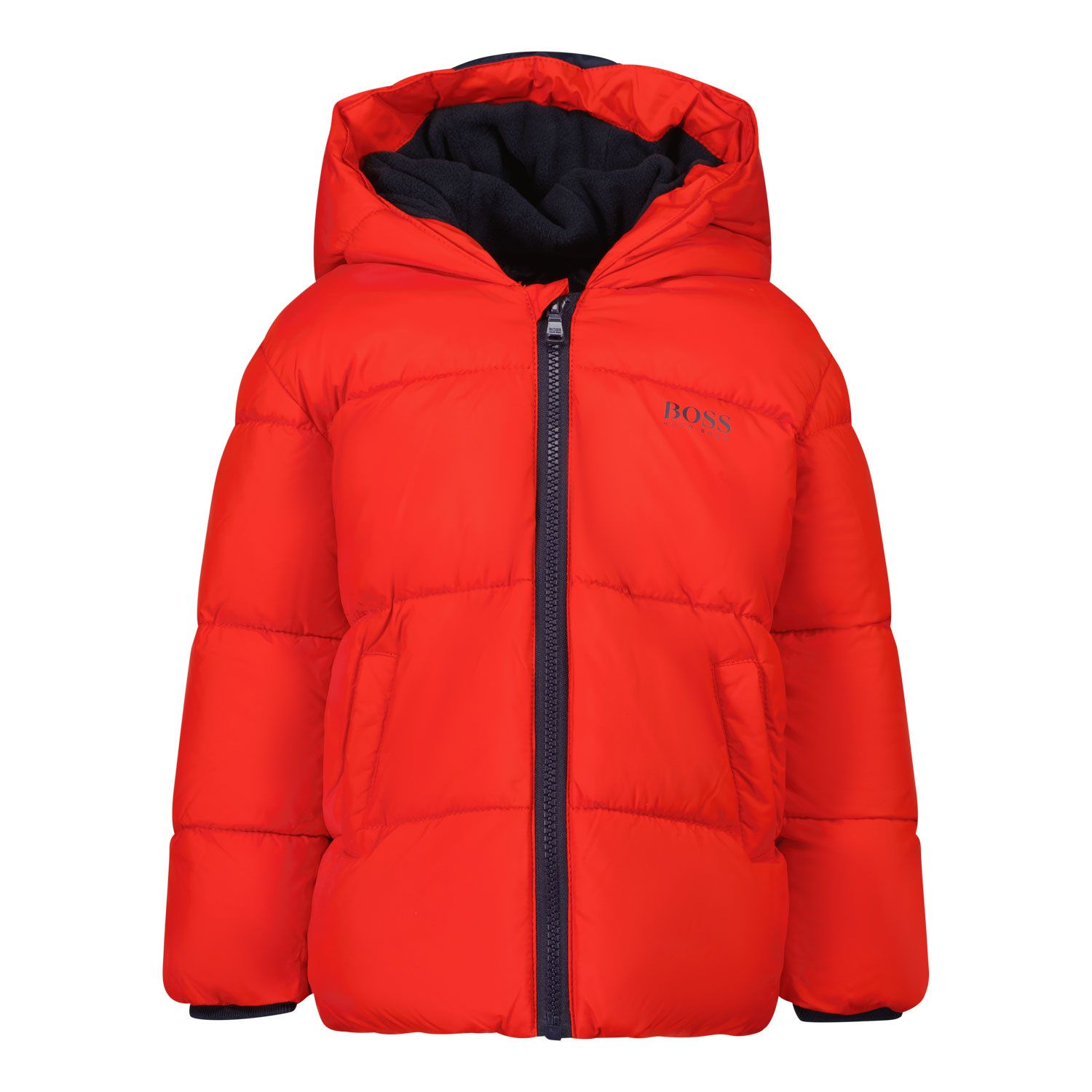 Picture of Boss J06237 baby coat red