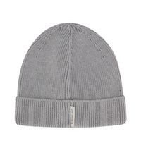 Picture of Moncler 9Z70900 baby hat light gray
