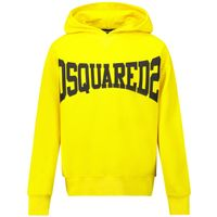 Picture of Dsquared2 DQ0071 kids sweater yellow