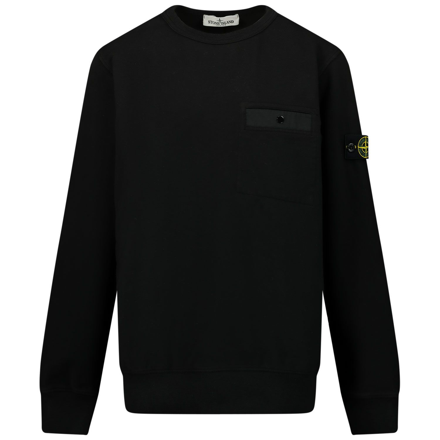 Picture of Stone Island 60142 kids sweater black