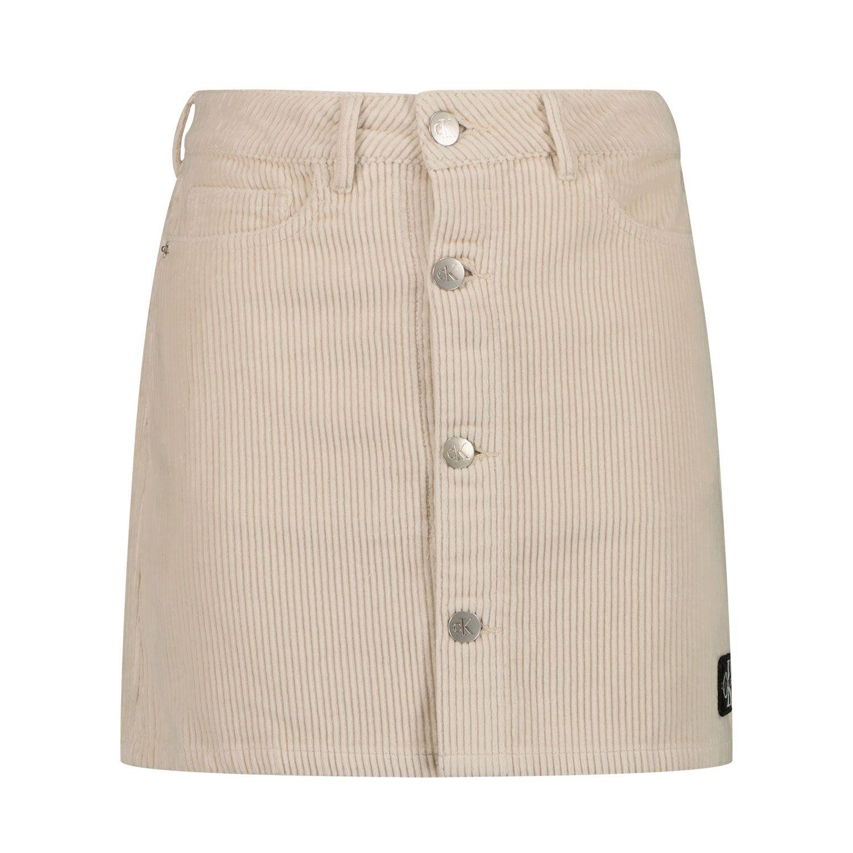 Picture of Calvin Klein IG0IG00943 kids skirt off white