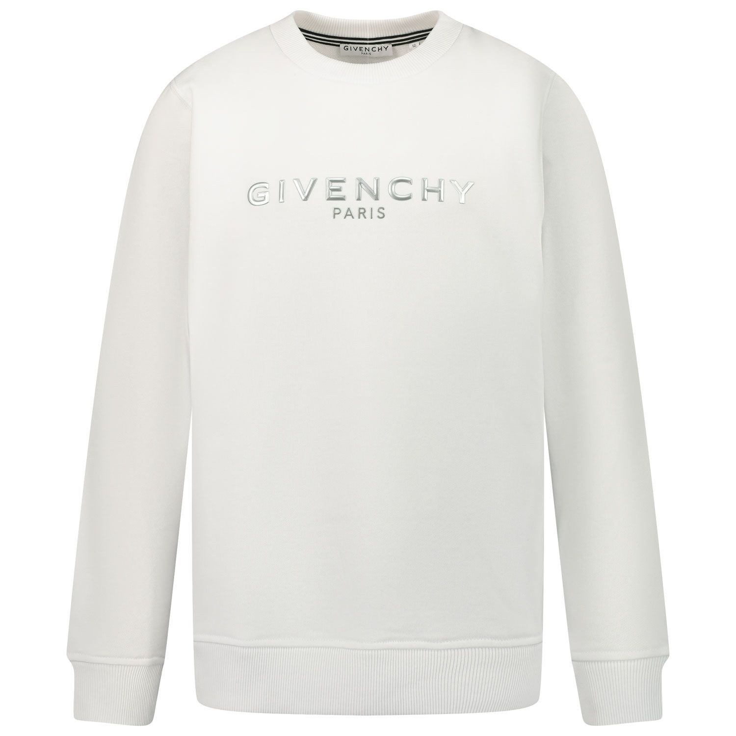 Picture of Givenchy H25241 kids sweater white