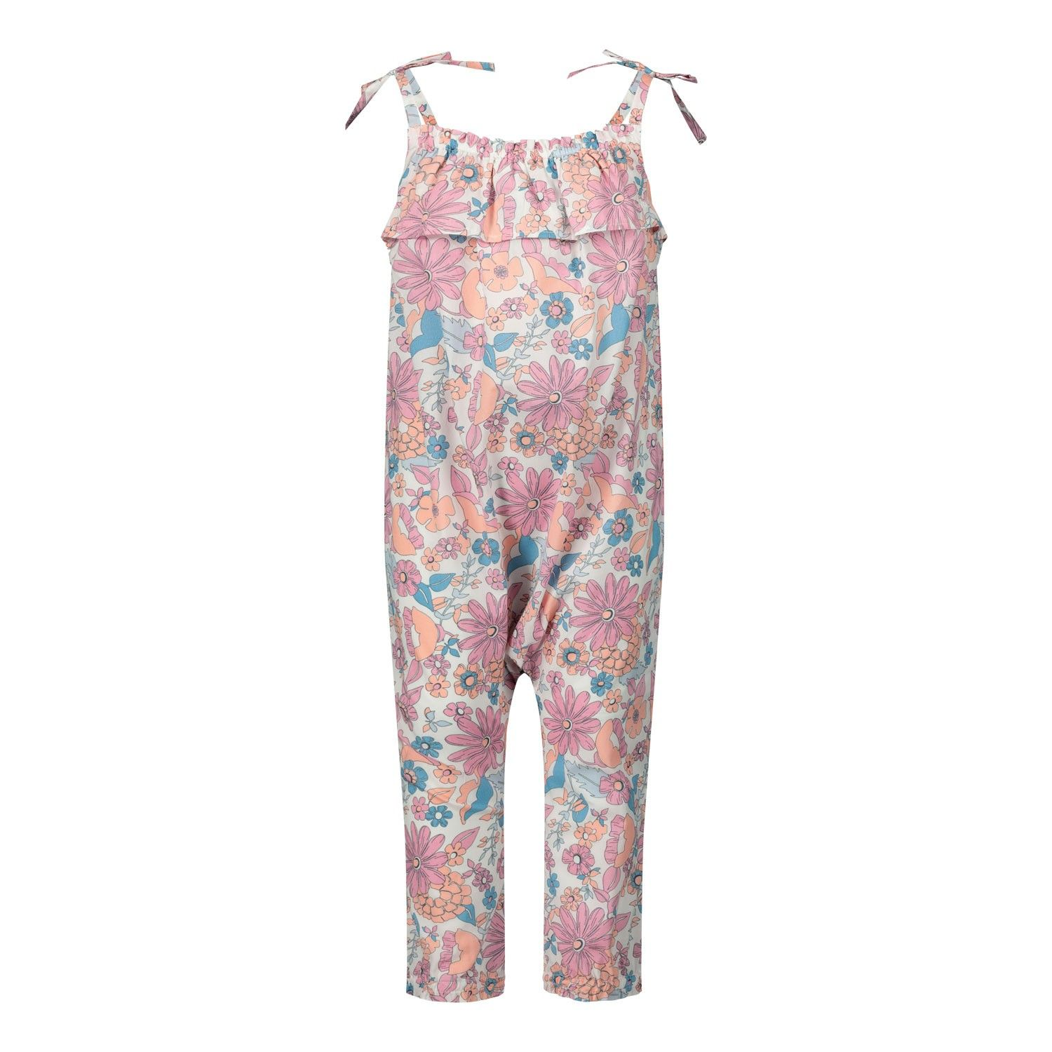 Picture of Chloé C04161 baby jumpsuit pink