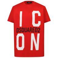 Bild von Dsquared2 DQ0243 Kindershirt Rot