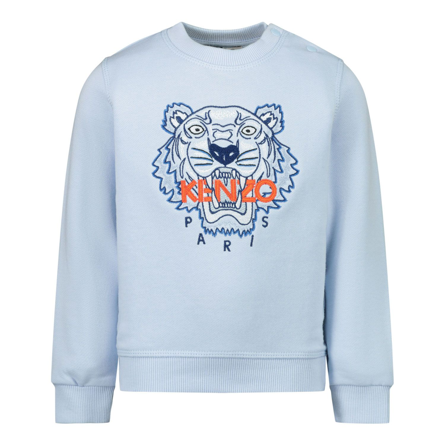 Picture of Kenzo KR15668BB baby sweater light blue