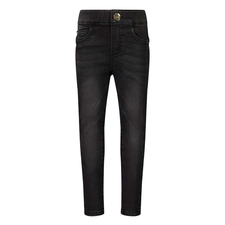 Picture of Liu Jo KF0025 kids jeans black