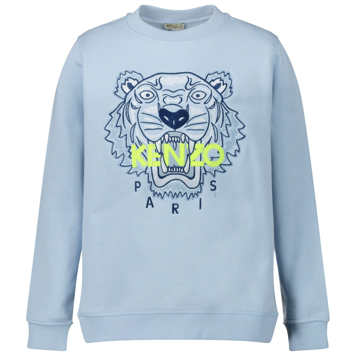 Picture of Kenzo 15688 kids sweater light blue