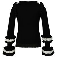 Picture of Reinders G939 kids sweater black