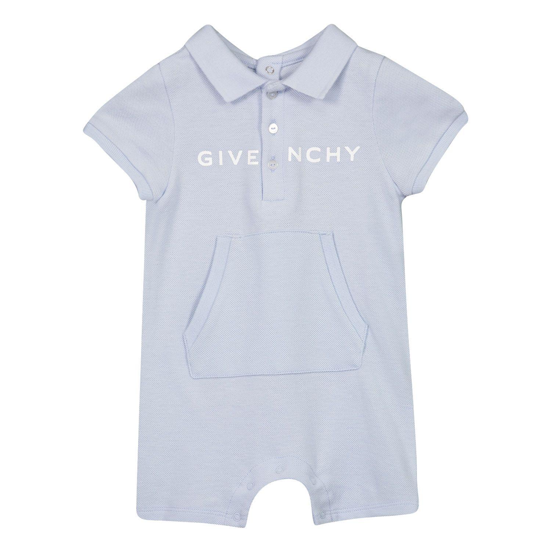 Bild von Givenchy H94054 Babystrampelanzug Hellblau
