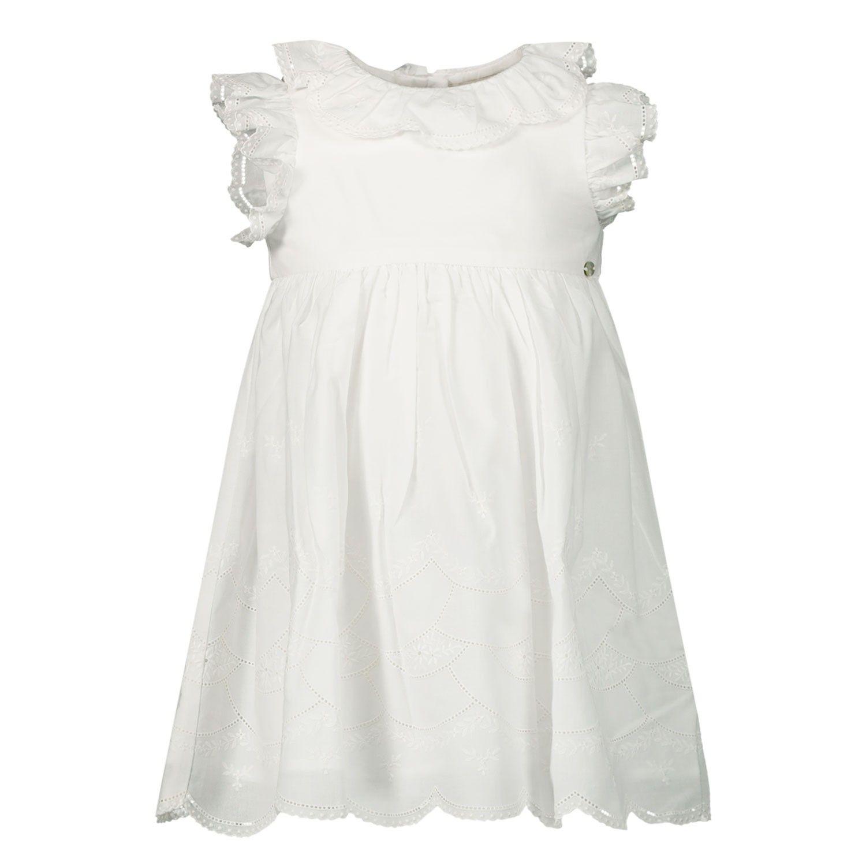 Picture of Tartine et Chocolat TQ30111 baby dress white