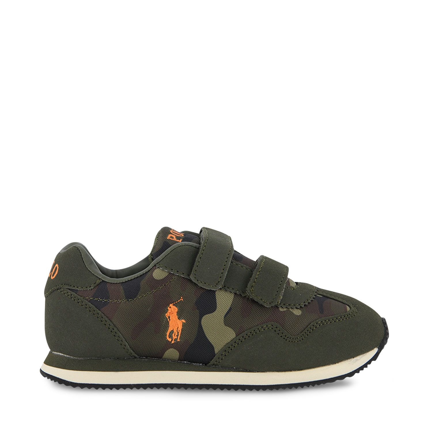 Picture of Ralph Lauren CRESTON EZ kids sneakers army