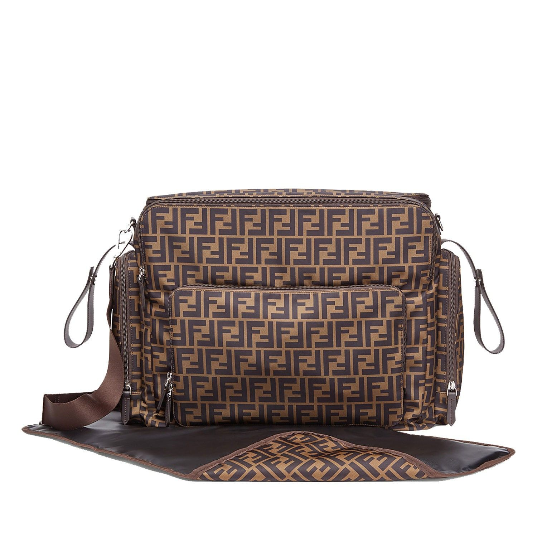 Picture of Fendi 7VB013 diaper bags brown