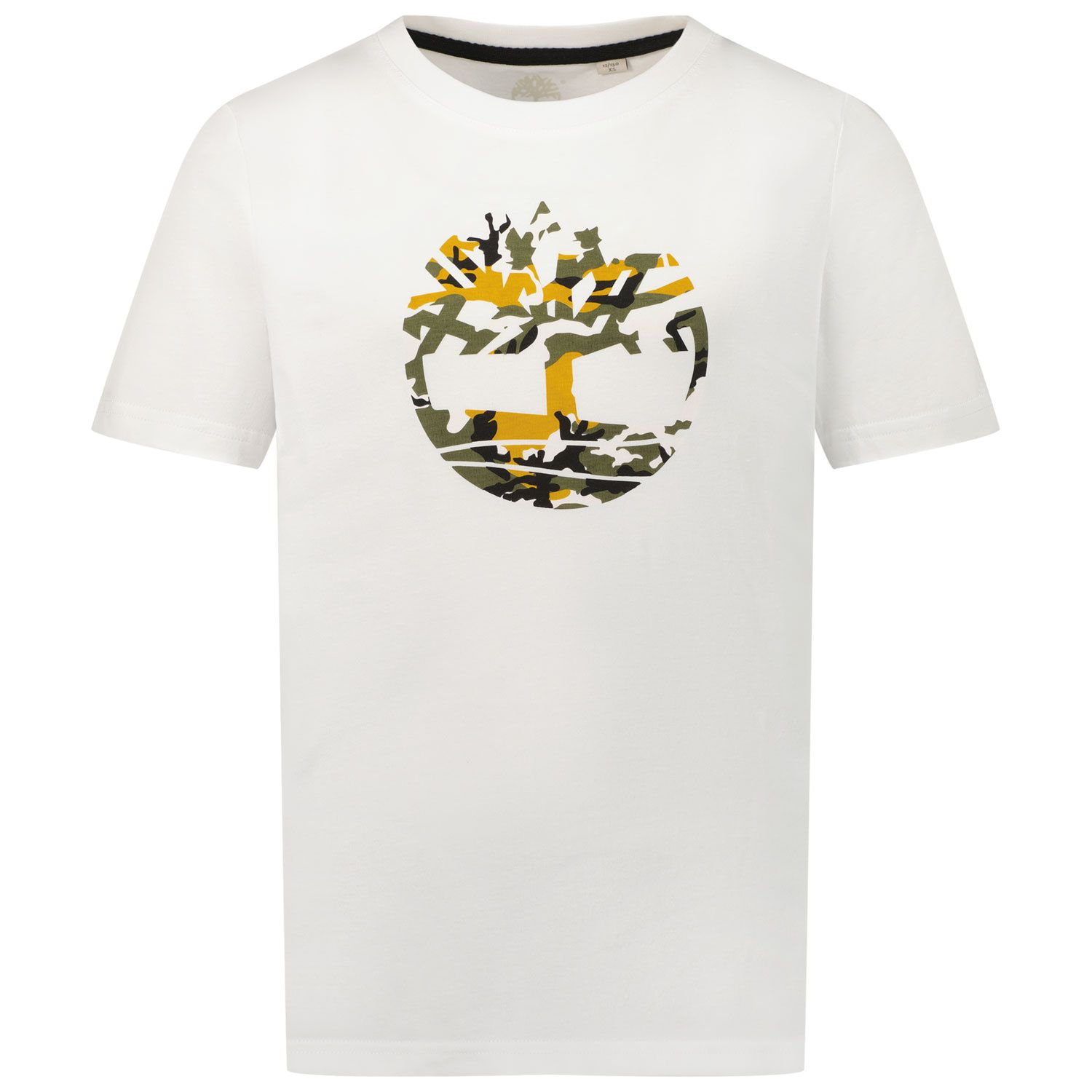 Picture of Timberland T25S34 kids t-shirt white