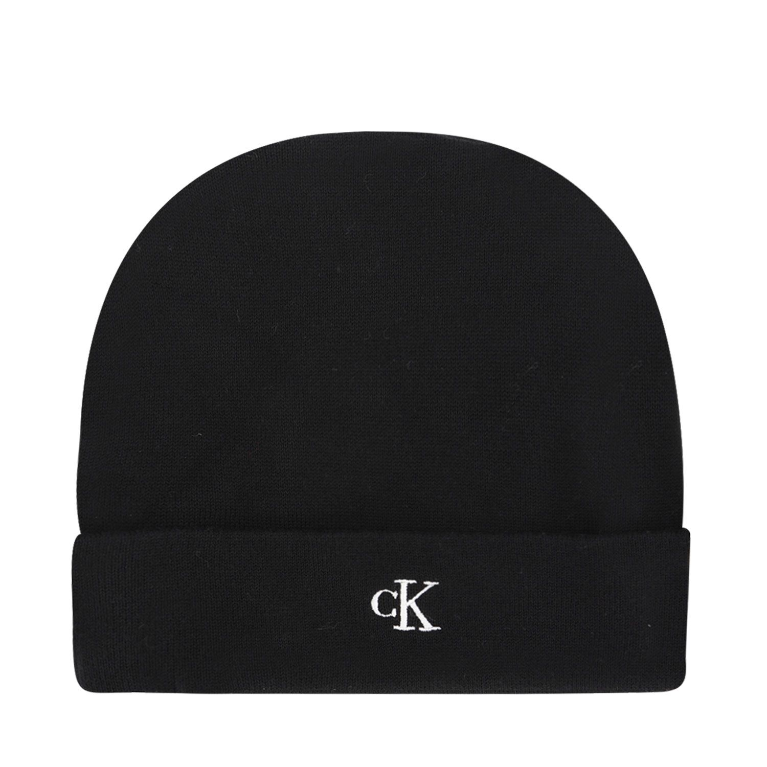 Picture of Calvin Klein IU0IU00145 kids hat black