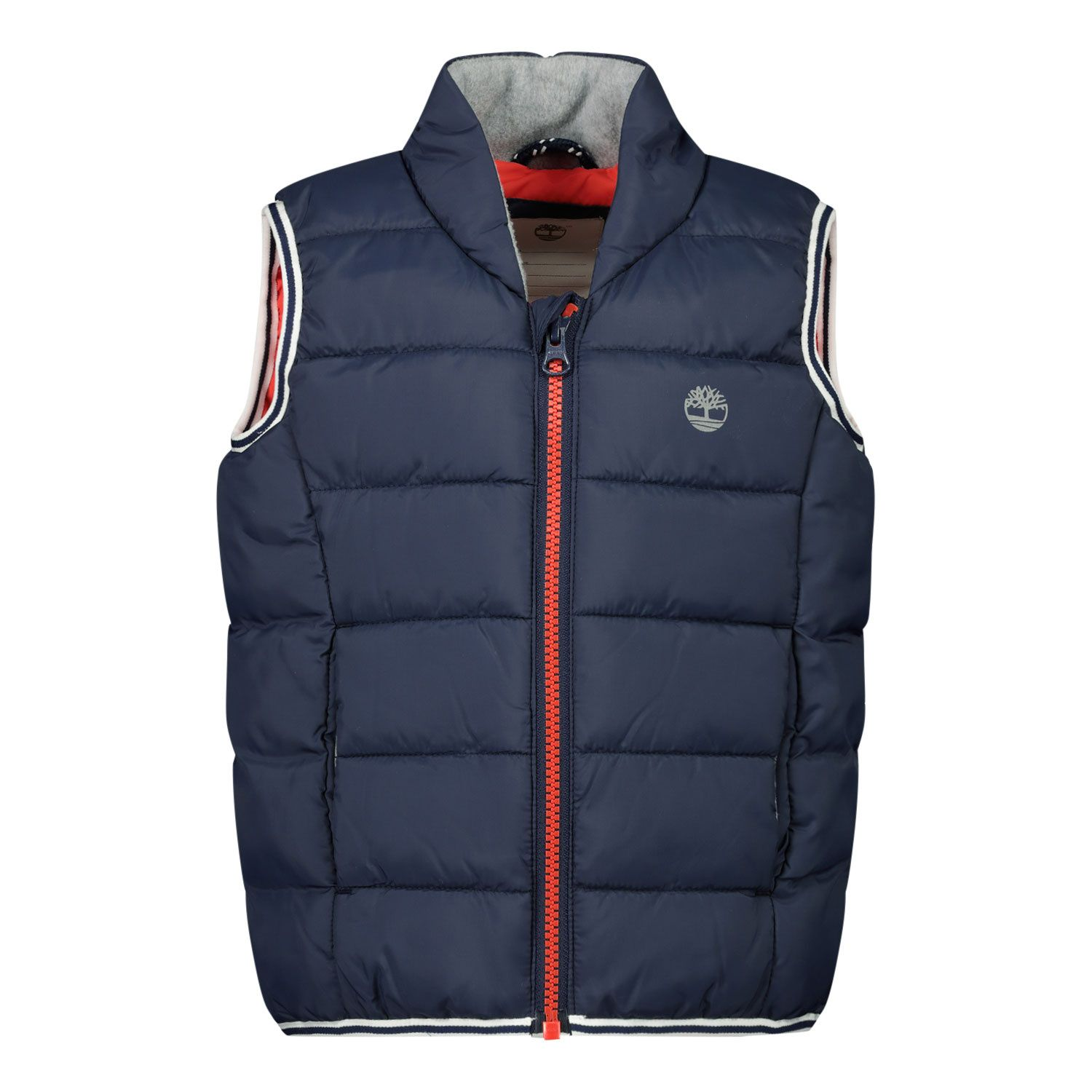 Picture of Timberland T063295 baby bodywarmer navy
