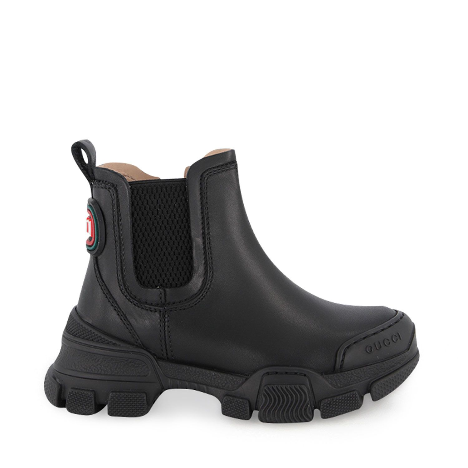 Picture of Gucci 629738 kids boots black