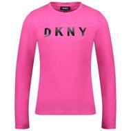 Bild von DKNY D35R14 Kindershirt Neonpink