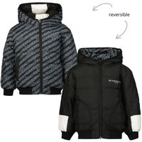 Picture of Givenchy H06050 baby coat black