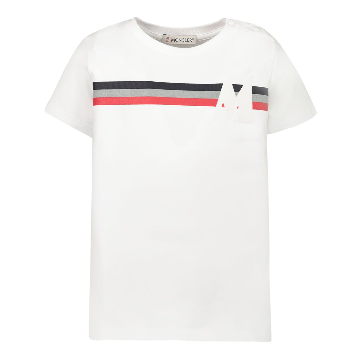 Picture of Moncler 8C71520 baby shirt white