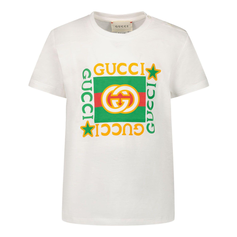 Bild von Gucci 548034 XJCPU Baby-T-Shirt Weiß