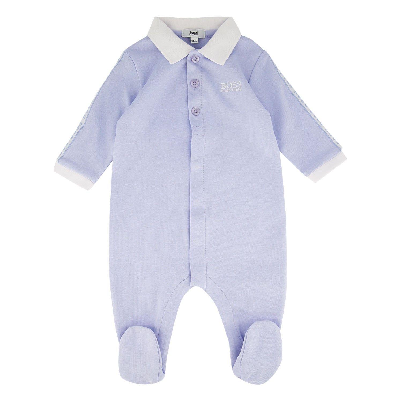 Bild von Boss J97156 Babystrampelanzug Hellblau