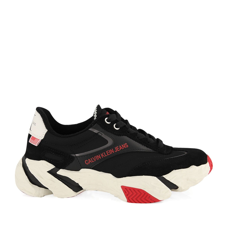 Afbeelding van Calvin Klein SIGMA dames sneakers zwart