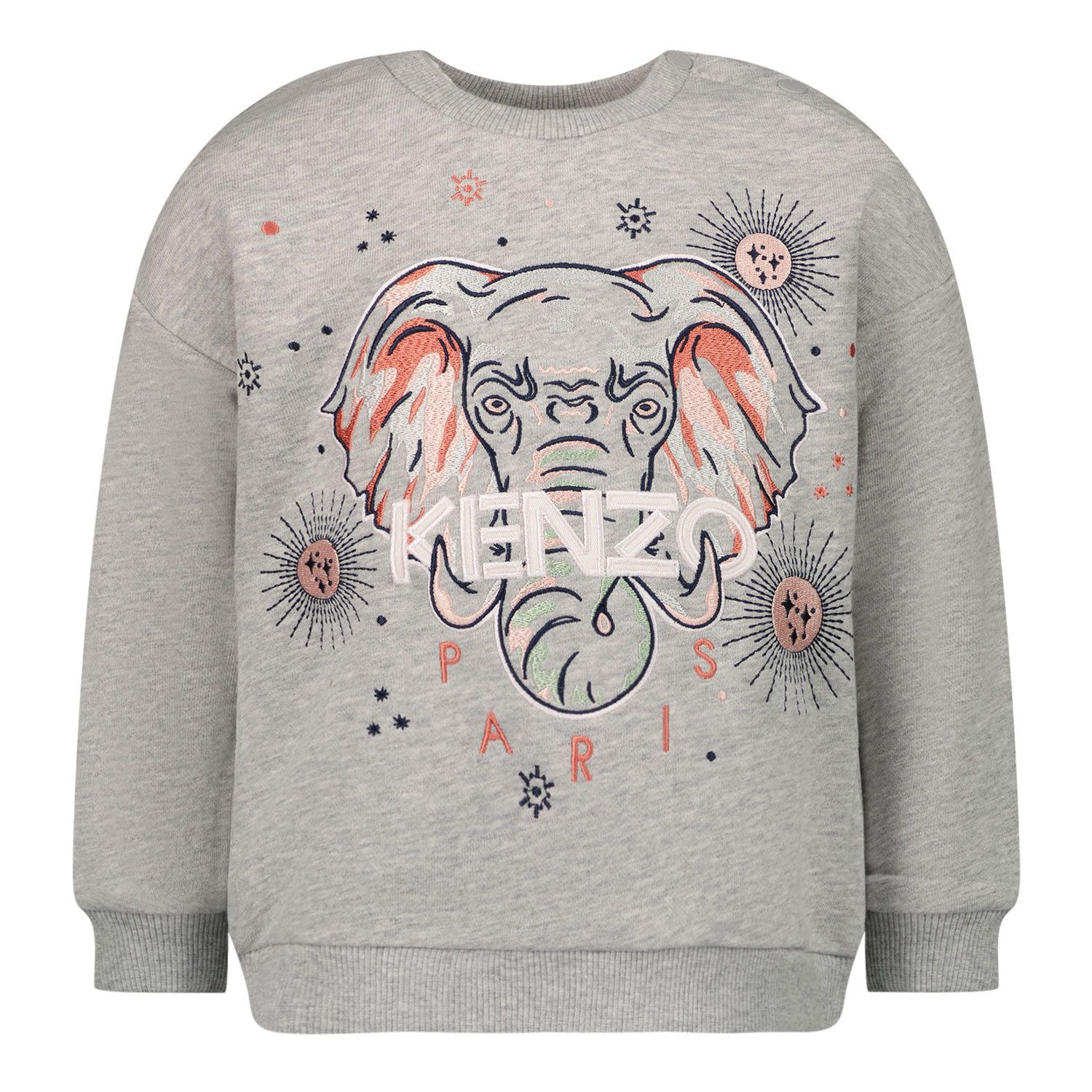 Picture of Kenzo K05080 baby sweater grey