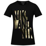 Afbeelding van NIK&NIK G8207 kinder t-shirt zwart