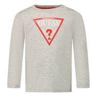 Afbeelding van Guess I84I09/K5M20 baby t-shirt licht grijs