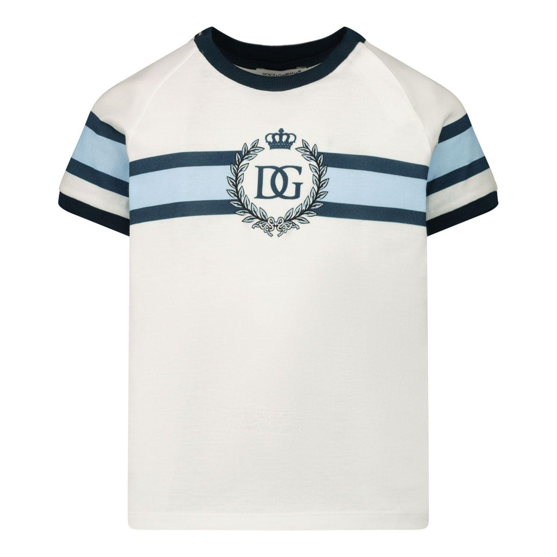 Bild von Dolce & Gabbana L1JT8X G7WRV Baby-T-Shirt Weiß
