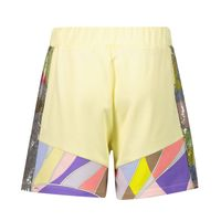 Picture of Pucci 9O6129 kids shorts yellow