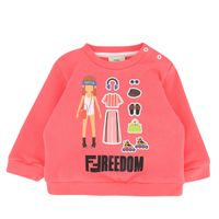 Picture of Fendi BFH056 baby sweater coral