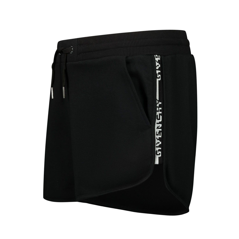 Afbeelding van Givenchy H14114 kinder shorts zwart