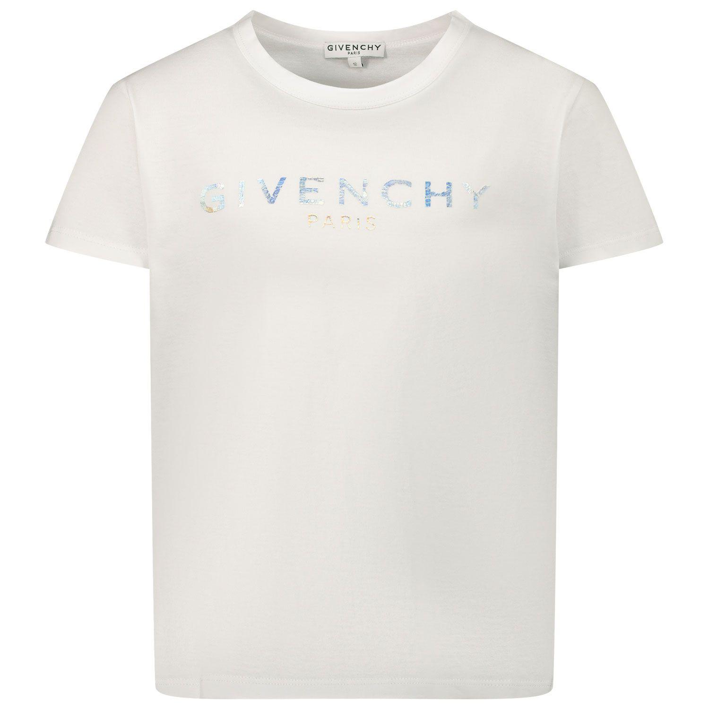 Bild von Givenchy H15199 Kindershirt Weiß