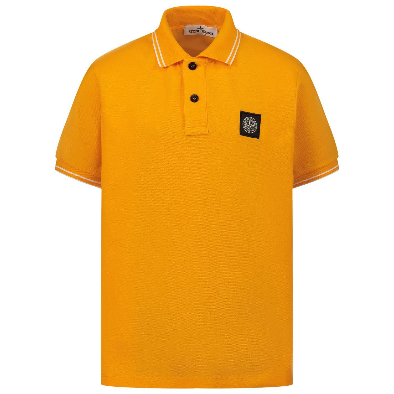 Bild von Stone Island 21348 Kinder-Poloshirt Orange