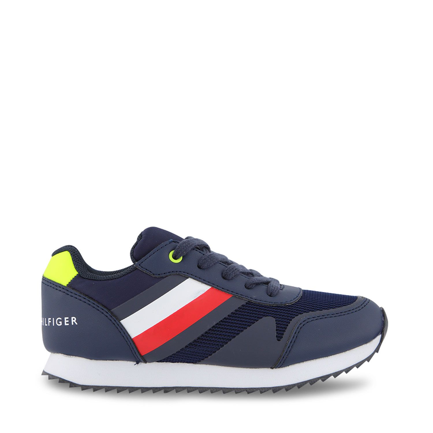 Picture of Tommy Hilfiger 31097 kids sneakers navy