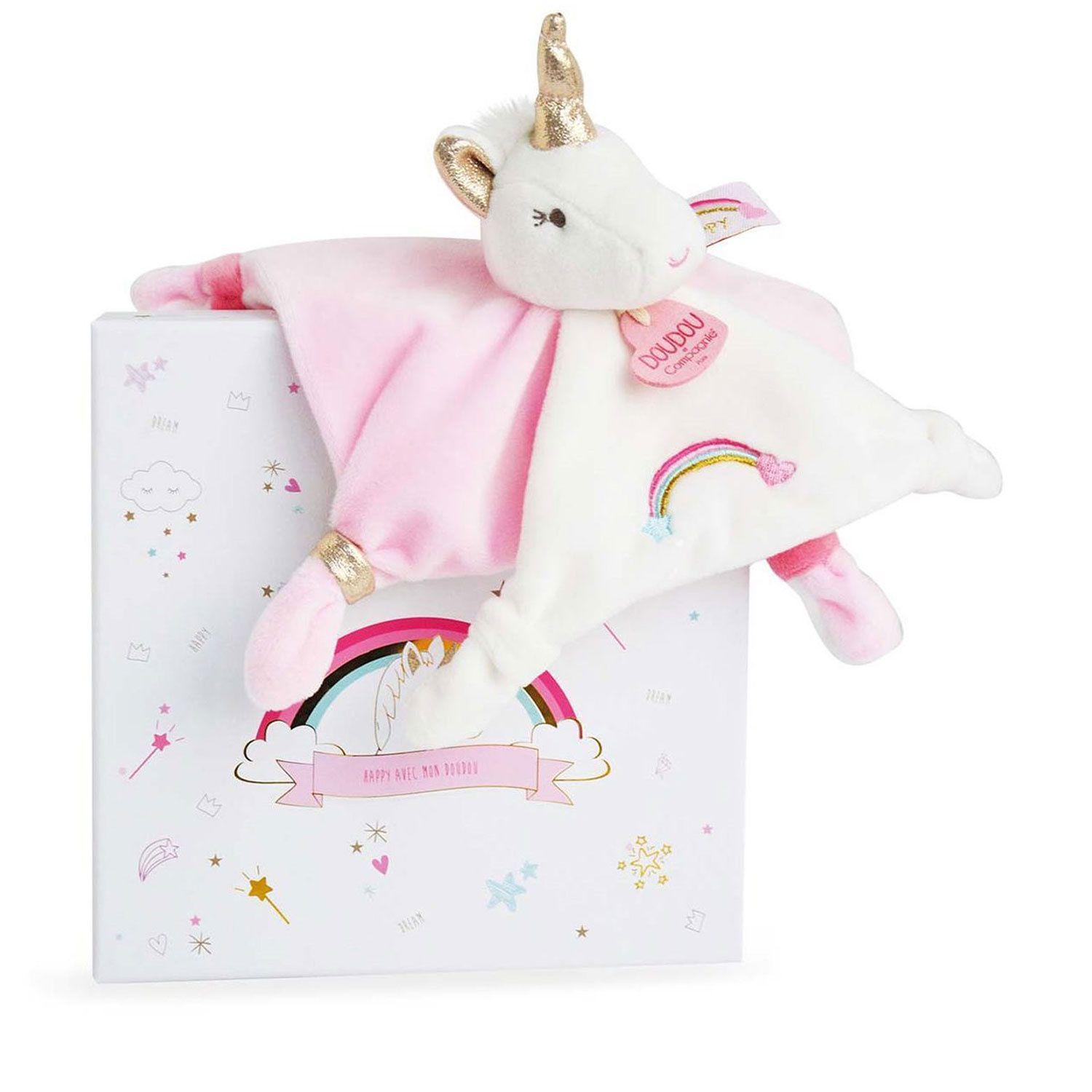 Picture of Doudou et Compagnie DC3312 baby accessory white