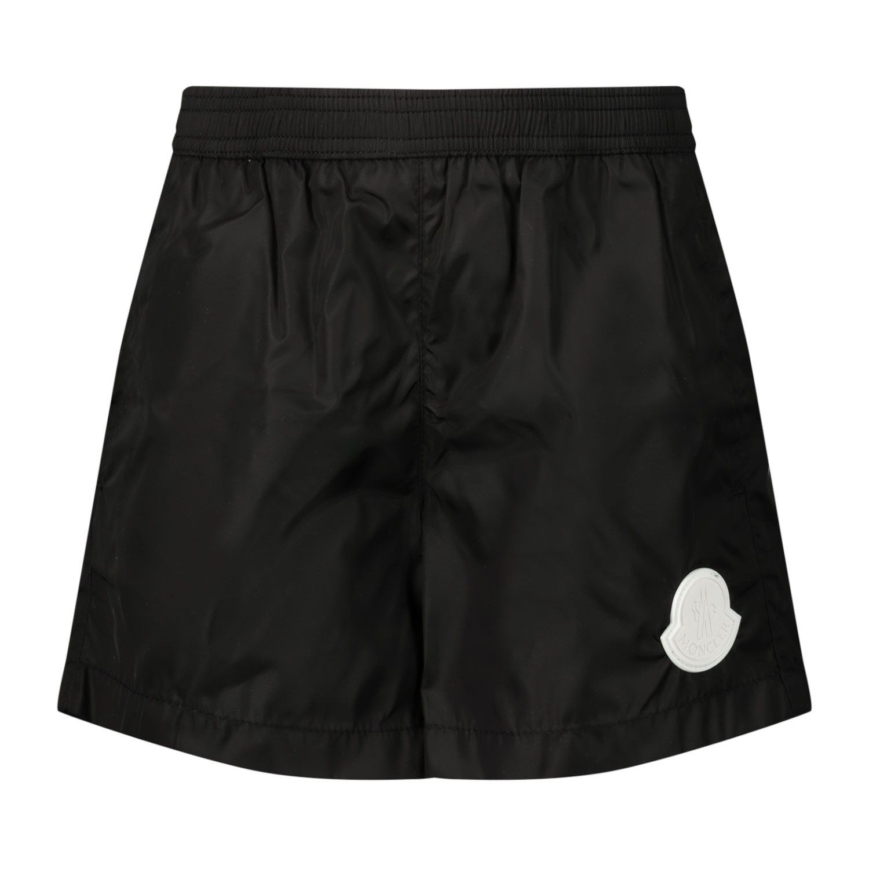 Afbeelding van Moncler 2C70420 baby badkleding zwart