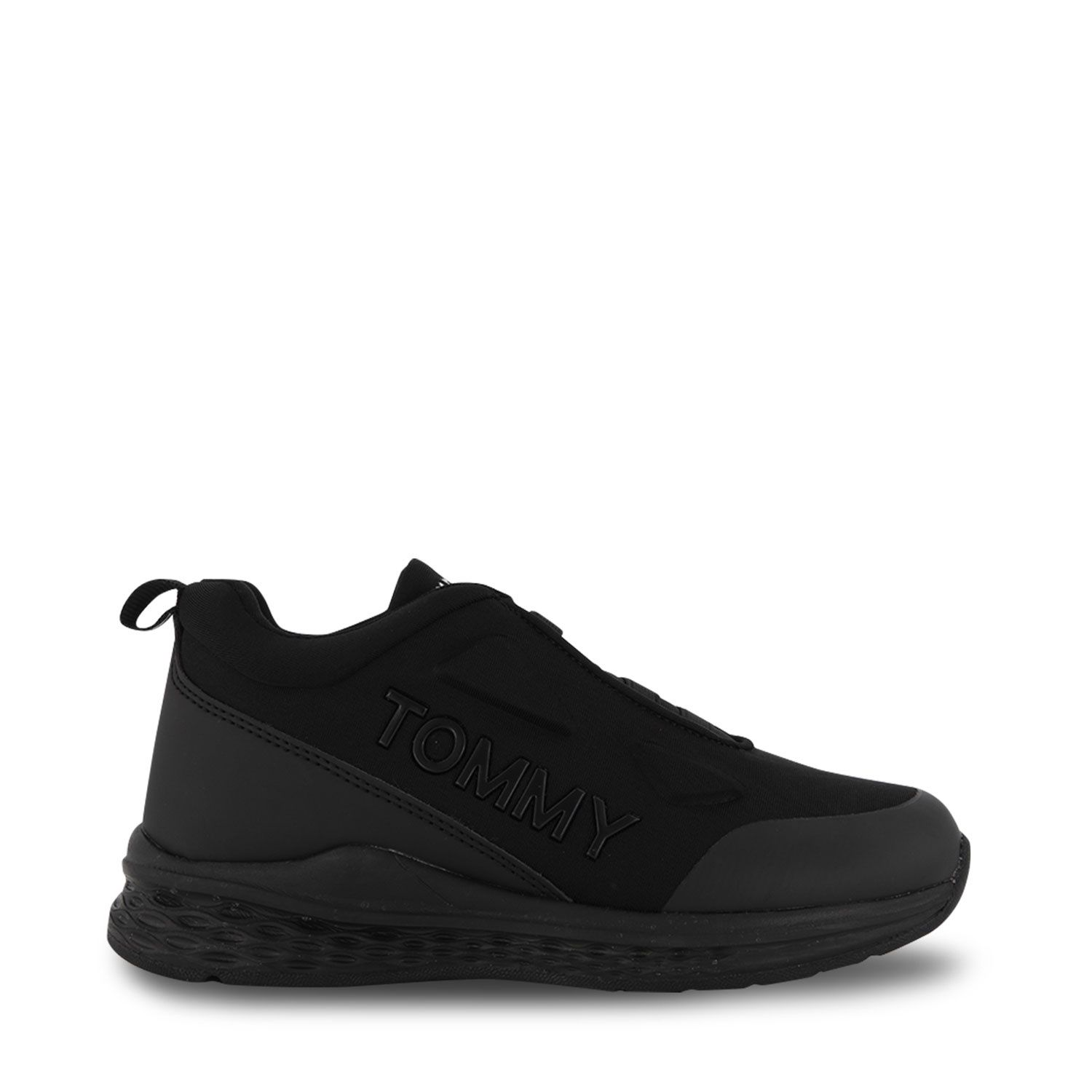 Picture of Tommy Hilfiger 32082 kids sneakers black