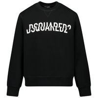 Picture of Dsquared2 DQ0475 kids sweater black