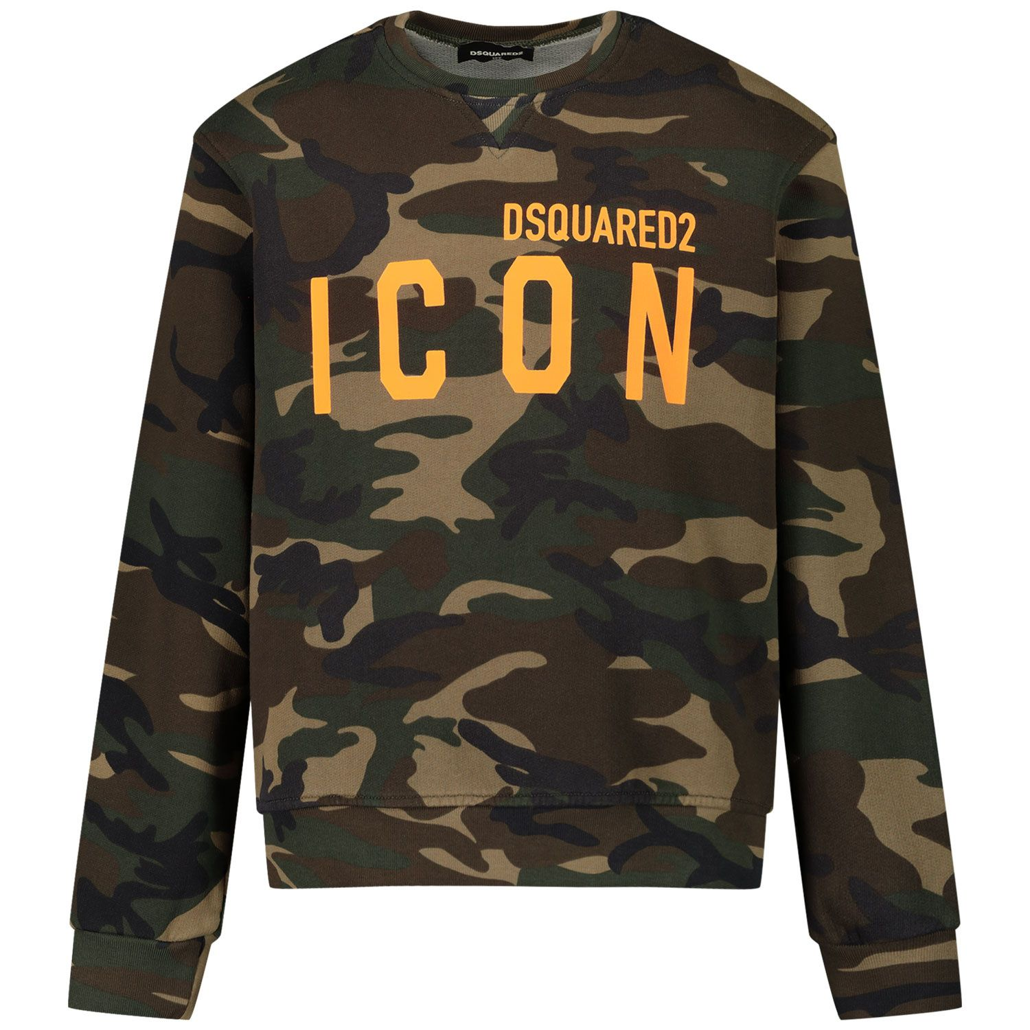 Picture of Dsquared2 DQ049U kids sweater army