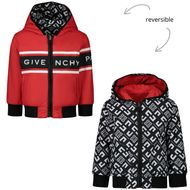 Bild von Givenchy H06037 Babyjacke Rot