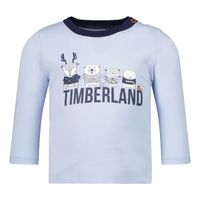 Picture of Timberland T95914 baby shirt light blue