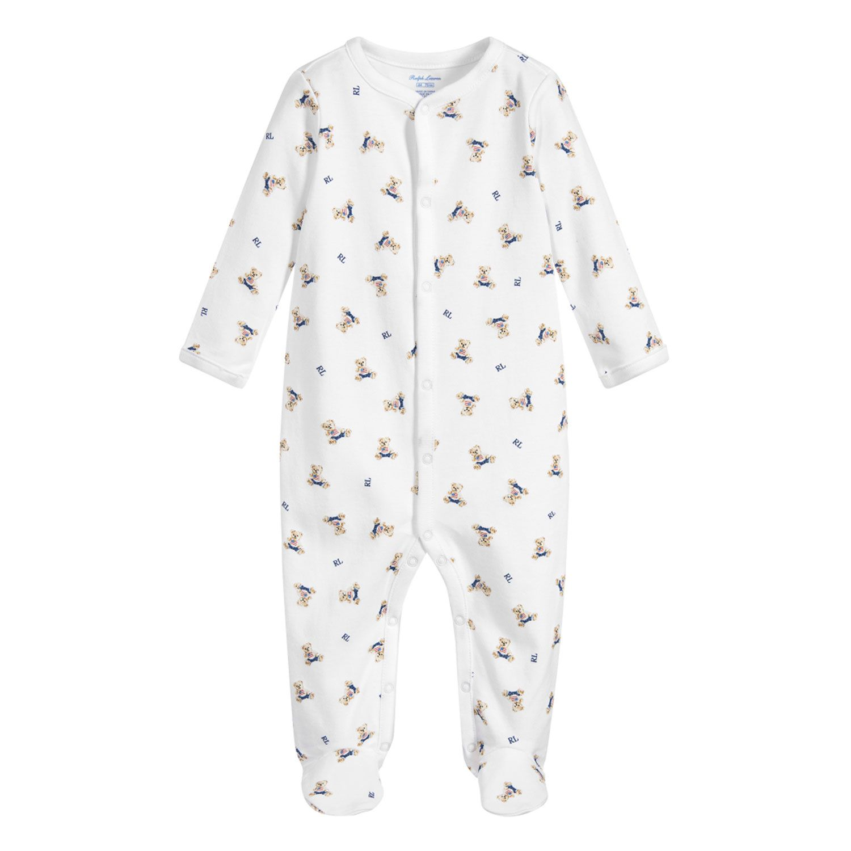 Bild von Ralph Lauren 320682715 Babystrampelanzug Weiß