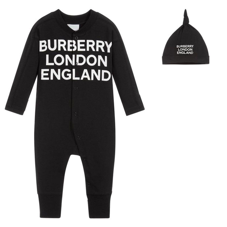 Bild von Burberry 8030585 Babystrampelanzug Schwarz